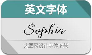 SophiaScript(英文字体)