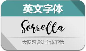Sorrella(英文字体)