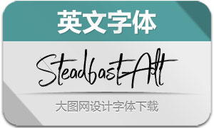 Steadfast-Alt(英文字体)