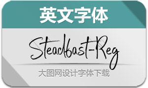 Steadfast-Regular(英文字体)