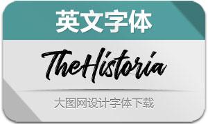 TheHistoria(英文字体)