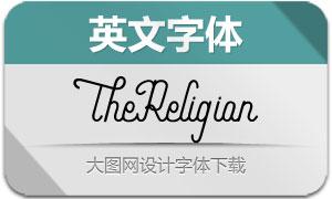 TheReligion(英文字体)