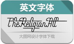 TheReligionAlt(英文字体)