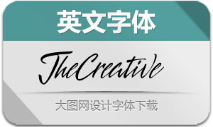 TheCreative-Regular(英文字体)