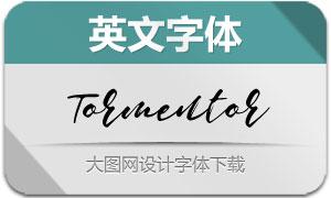 Tormentor(英文字体)