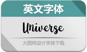 Universe-Regular(英文字体)