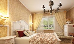 欧式卧室房间装修效果展示高清图片