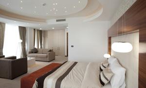 客厅卧室家具摆设内景摄影高清图片