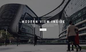 时尚艺术创意多用途网站模板源文件