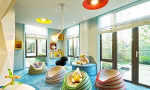 儿童适用可爱温馨房间摄影高清图片