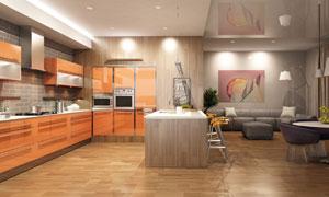 现代简约风格室内装修效果高清图片