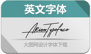 ArionTypeface(英文字体)