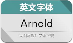 Arnold(英文字体)