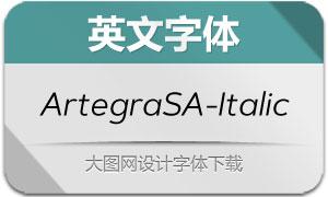 ArtegraSansAlt-Italic(英文字体)