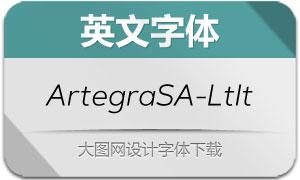 ArtegraSansAlt-LightItalic(字体)