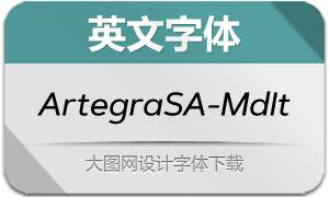 ArtegraSansAlt-MediumIt(字体)