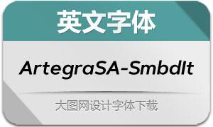 ArtegraSansAlt-SemiBoldIt(英文字体)