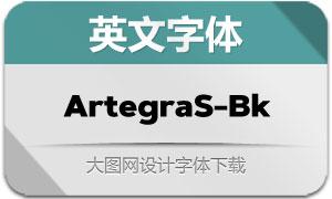 ArtegraSans-Black(英文字体)