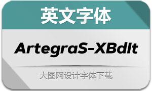 ArtegraSans-ExtraBoldItalic(字体)