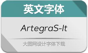 ArtegraSans-Italic(英文字体)