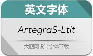 ArtegraSans-LightItalic(英文字体)
