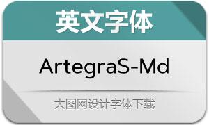 ArtegraSans-Medium(英文字体)
