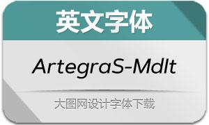 ArtegraSans-MediumIt(英文字体)