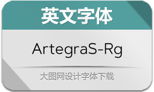 ArtegraSans-Regular(英文字体)