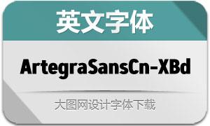 ArtegraSansCn-ExtBd(英文字体)