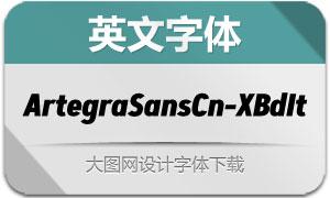 ArtegraSansCn-ExtBdIta(英文字体)