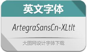 ArtegraSansCn-ExtLtIta(英文字体)