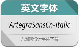 ArtegraSansCn-Italic(英文字体)