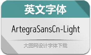 ArtegraSansCn-Light(英文字体)