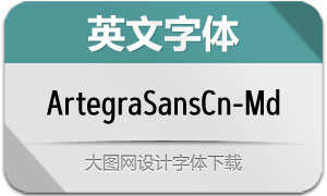 ArtegraSansCn-Med(英文字体)