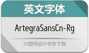 ArtegraSansCn-Regular(英文字体)