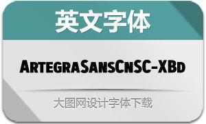 ArtegraSansCnSC-ExtBd(英文字体)