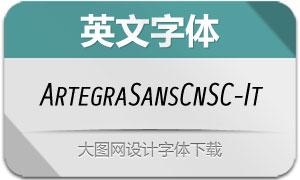 ArtegraSansCnSC-Italic(英文字体)