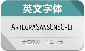 ArtegraSansCnSC-Light(英文字体)