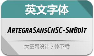 ArtegraSansCnSC-SmBdIt(字体)