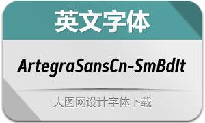 ArtegraSansCn-SmBdIt(英文字体)