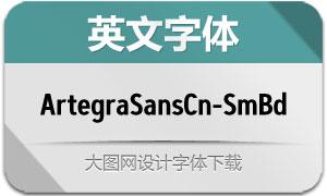 ArtegraSansCn-SmBd(英文字体)