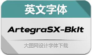 ArtegraSX-BlackIta(英文字体)