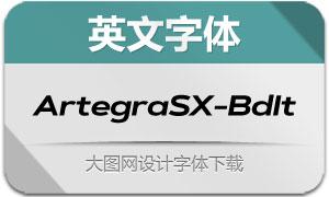 ArtegraSX-BoldIta(英文字体)