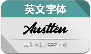 Austten(英文字体)