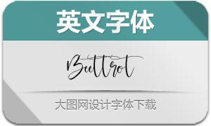 Beettrot(英文字体)