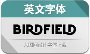 Birdfield系列三款英文字体