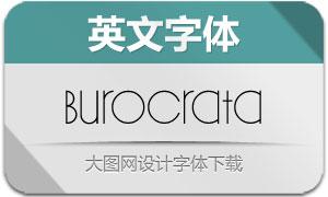 Burocrata(英文字体)