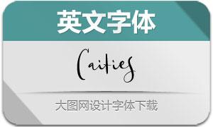 Caities(英文字体)