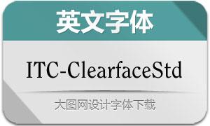 ClearfaceStd系列5款英文字体