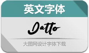 DattoTypeface(英文字体)